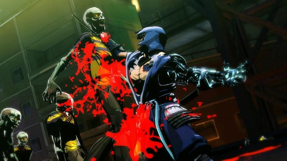 Image from Yaiba: Ninja Gaiden Z