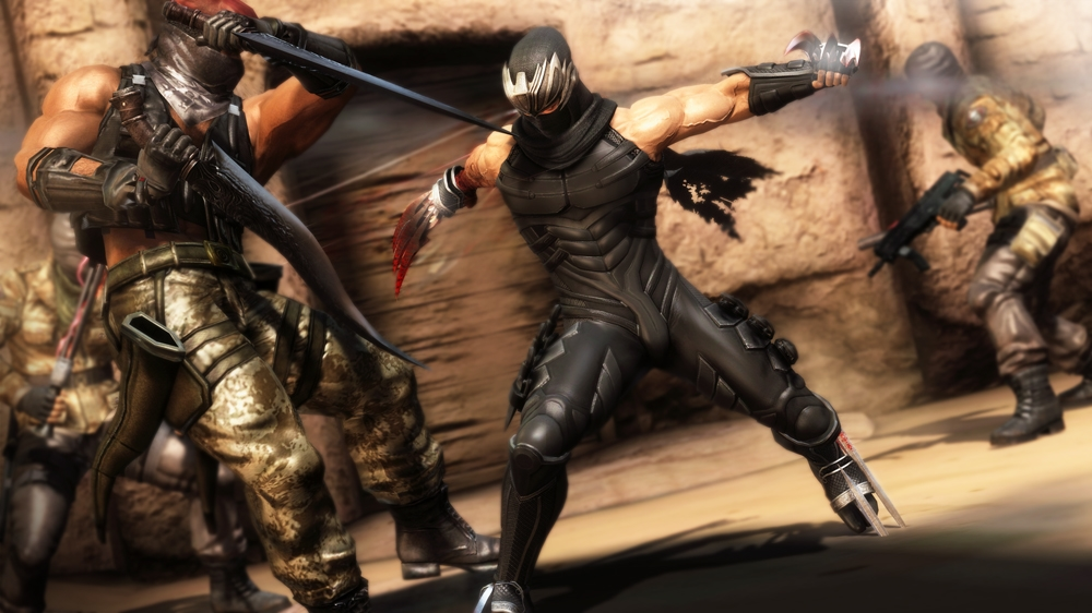 Image from NINJA GAIDEN 3: Razor's Edge Demo Version