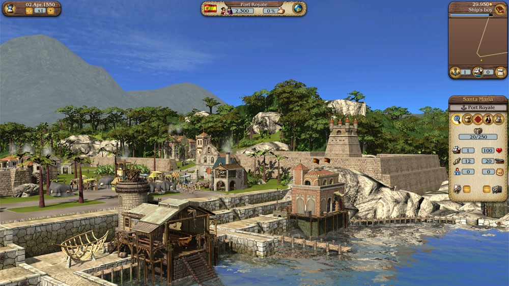 Image from Port Royale 3