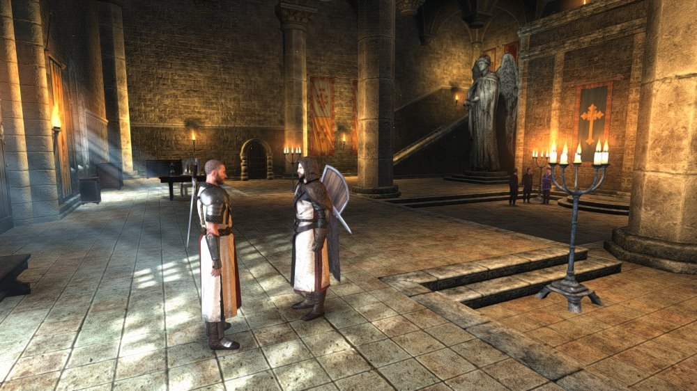 Image from The First Templar - Demo