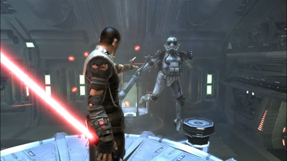 Snímek ze hry Star Wars: The Force Unleashed