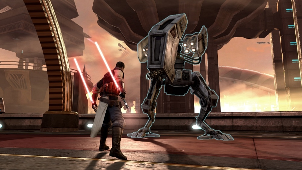 Snímek ze hry Star Wars: The Force Unleashed II