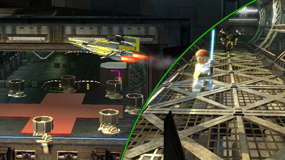 Image from LEGO Star Wars III: The Clone Wars Demo