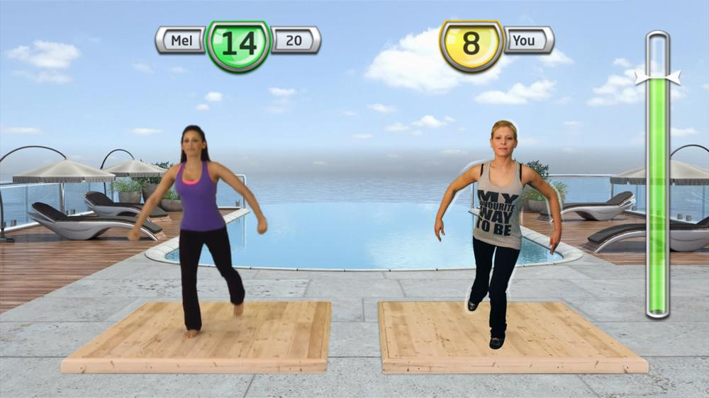 Image from Get Fit With Mel B
