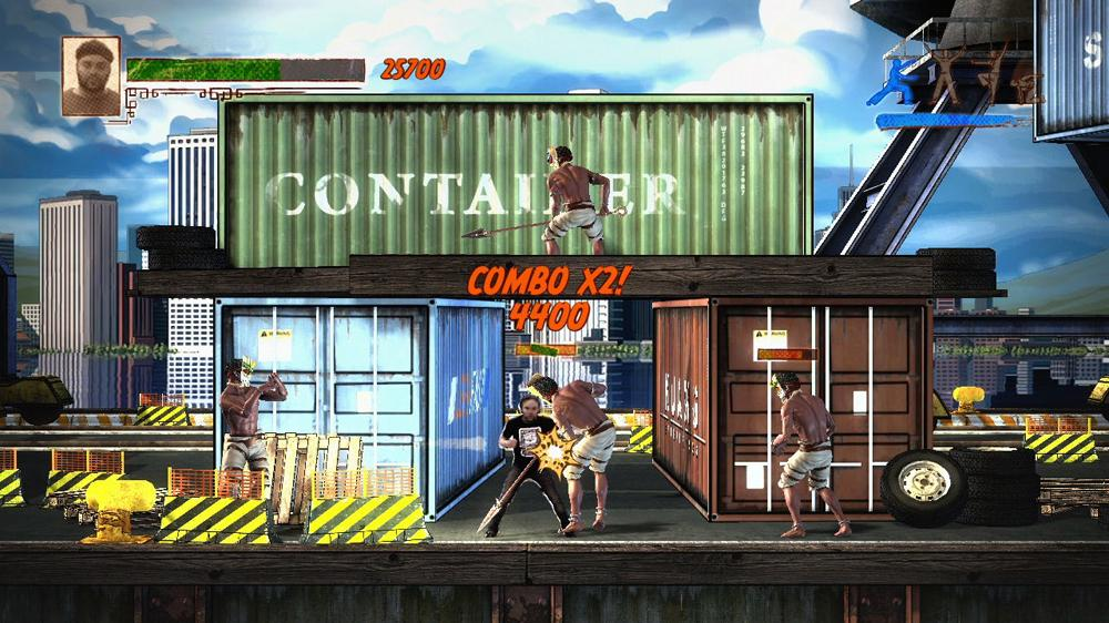 Image from Kung-Fu High Impact Demo