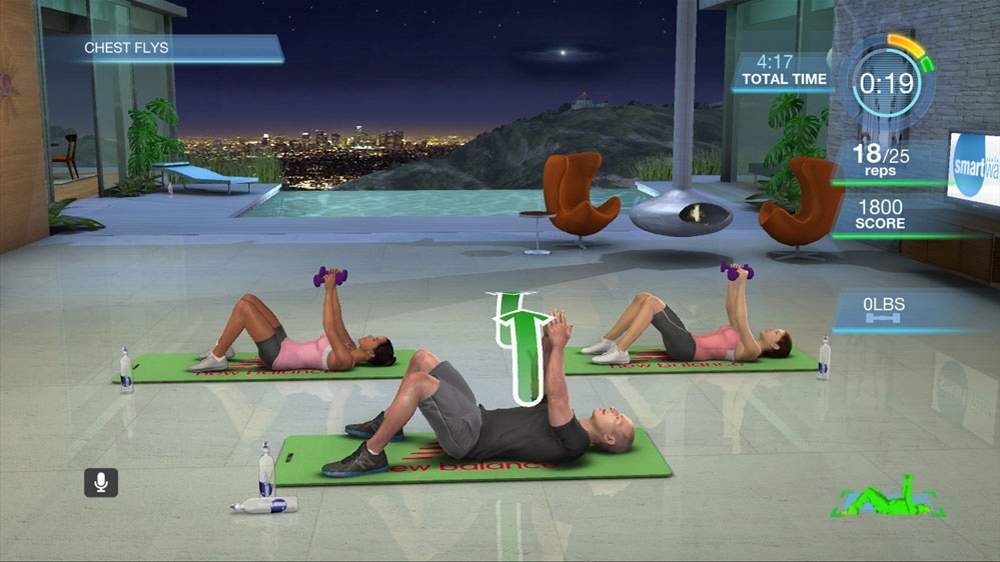 Image from Harley Pasternak's Hollywood Workout