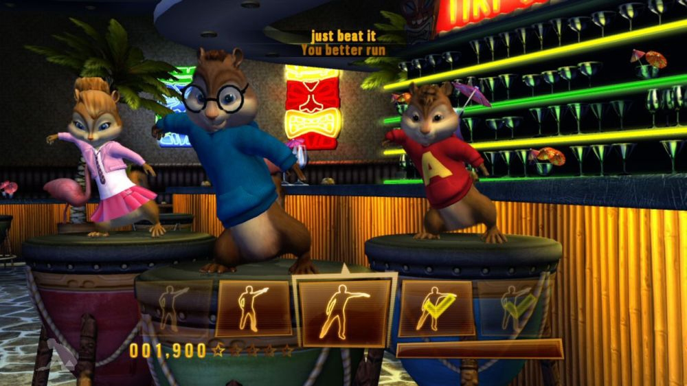 Kuva pelistä Alvin and The Chipmunks™: Chipwrecked
