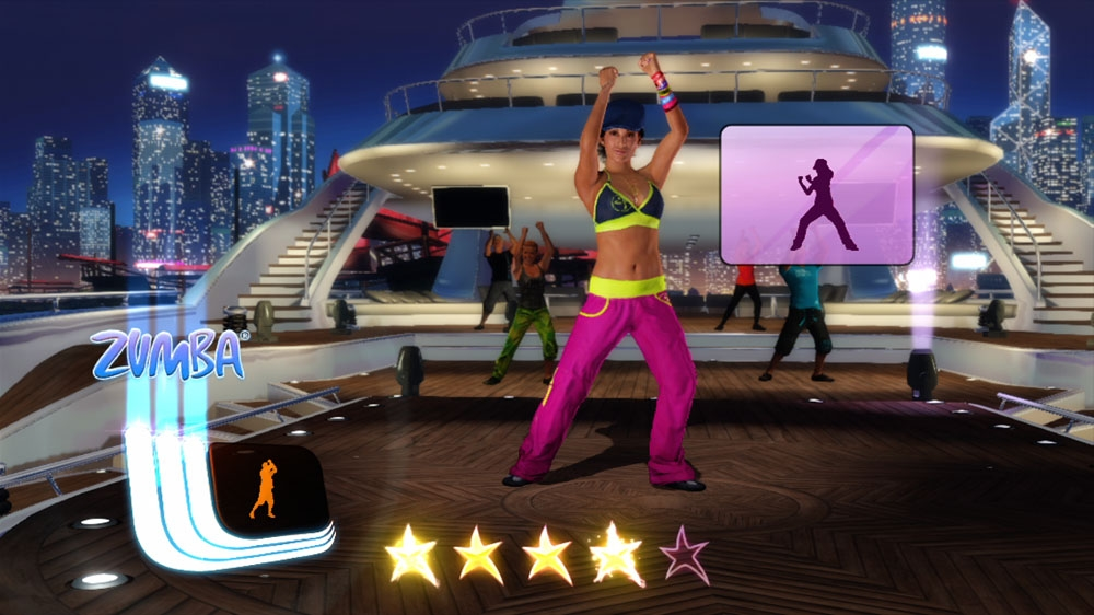 Image from Zumba Fitness Core