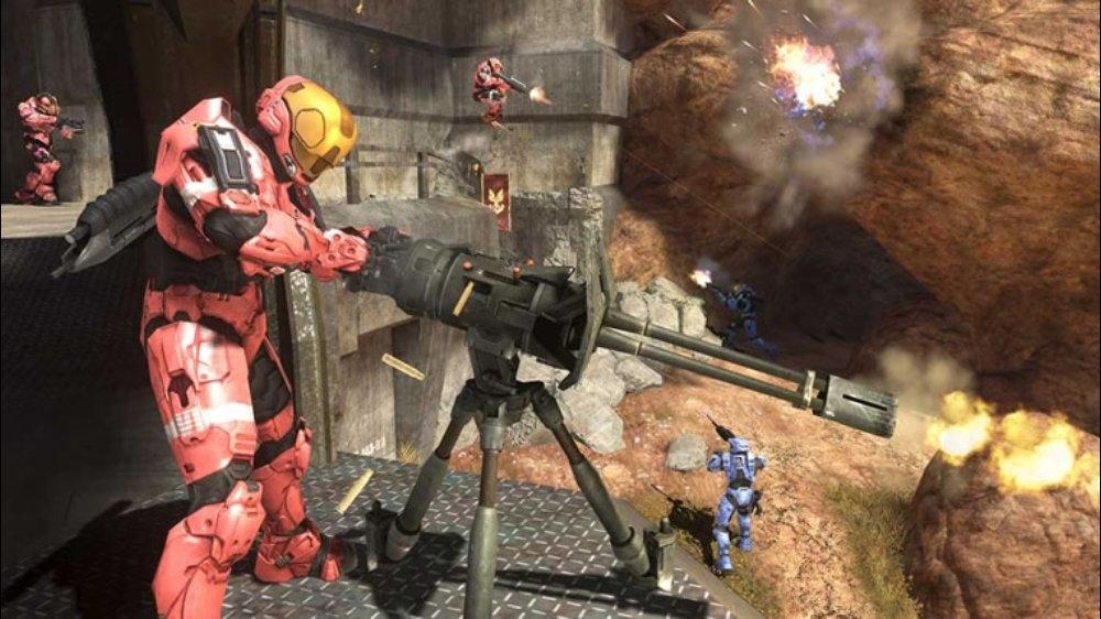 Snímek ze hry Halo 3