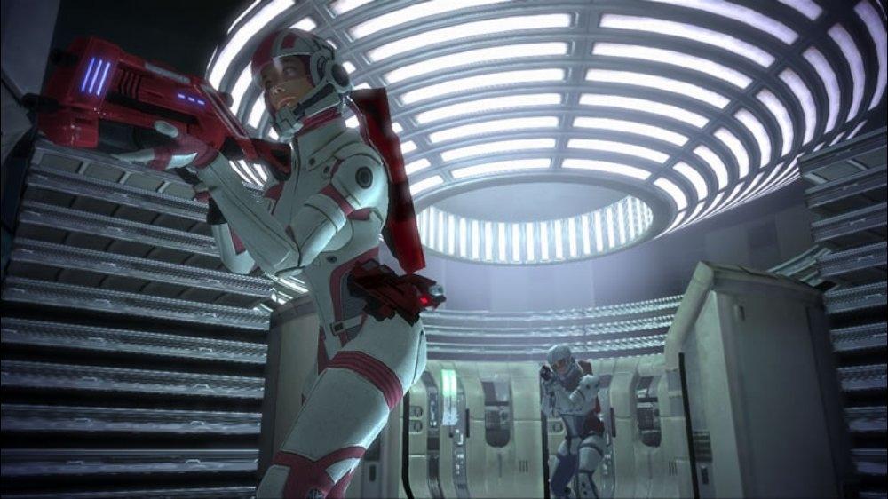 Snímek ze hry Mass Effect