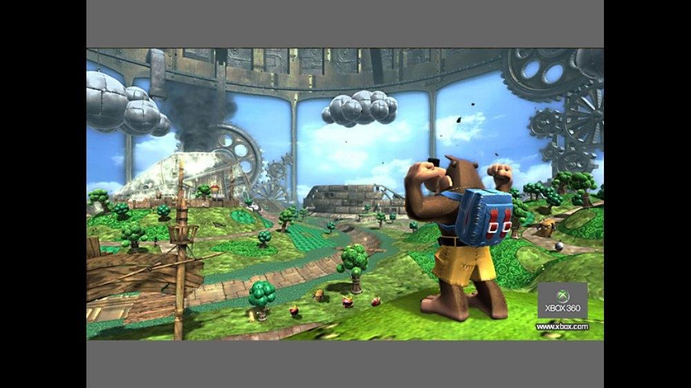 バンジョーとカズーイの大冒険ガレージ大作戦 のイメージ