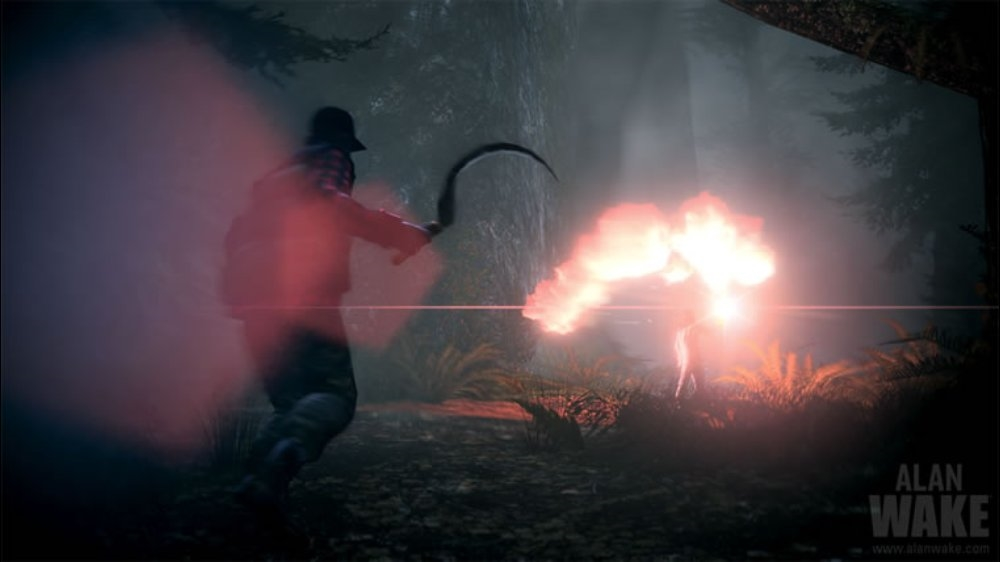 Snímek ze hry Alan Wake