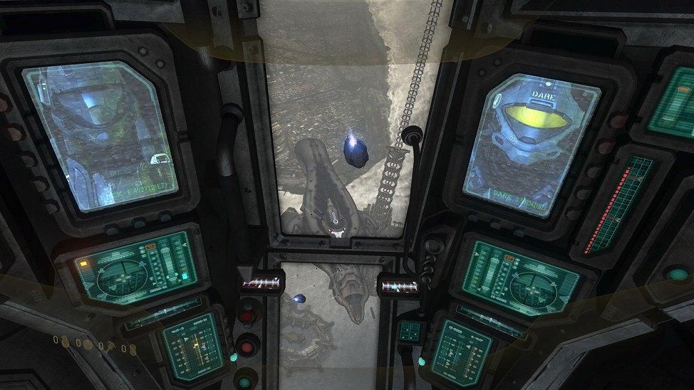 Snímek ze hry Halo 3: ODST Campaign Edition