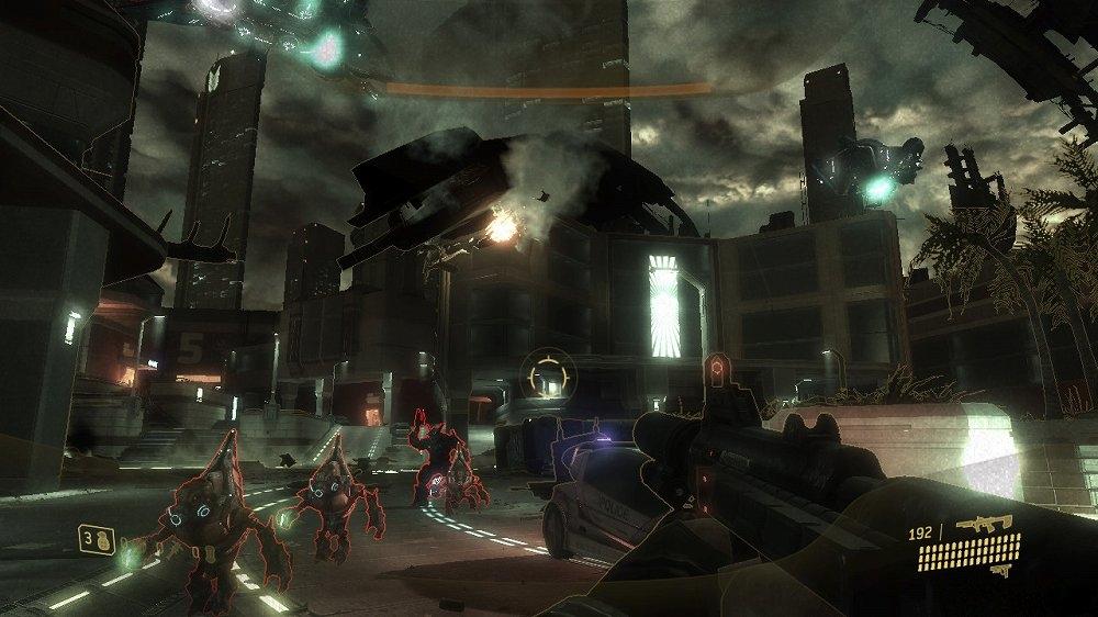 Billede fra Halo 3: ODST Campaign-udgave