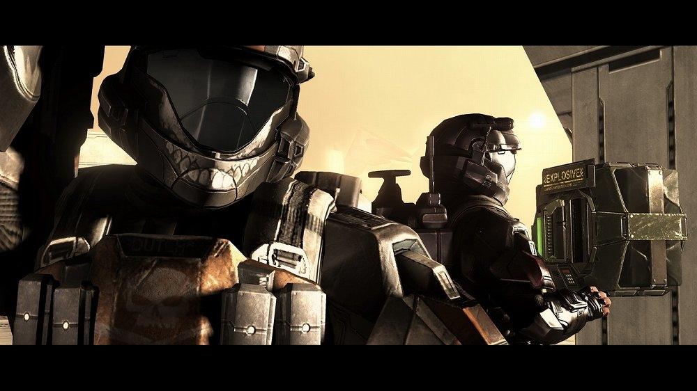 Kuva pelistä Halo 3: ODST -kampanjaversio