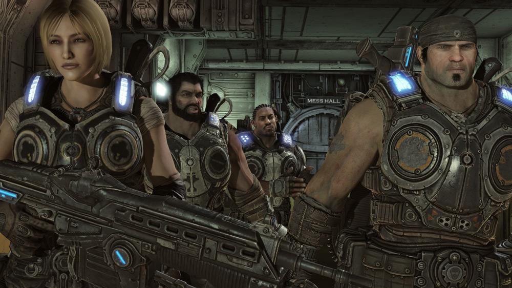 Snímek ze hry Gears of War 3