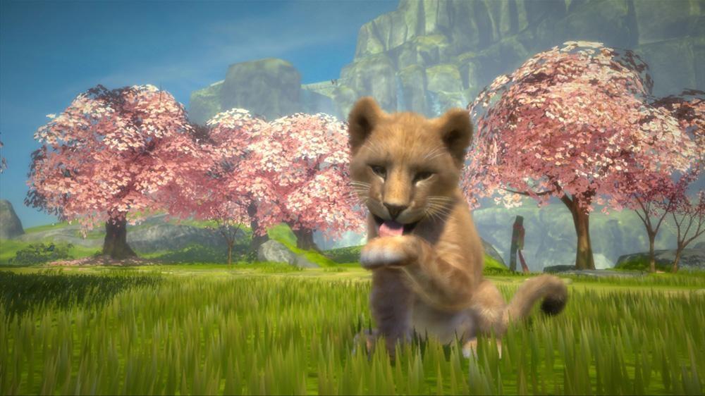 Изображение из Kinectimals