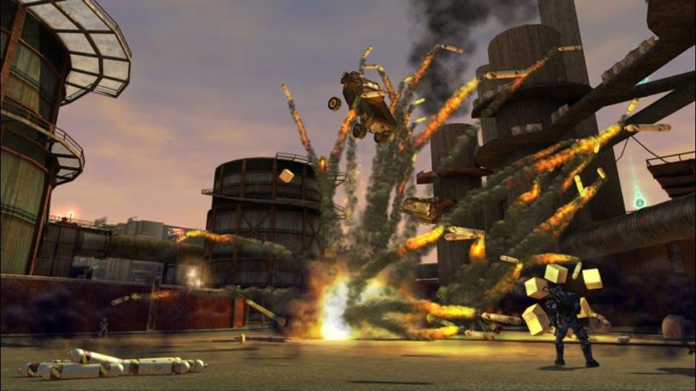 Snímek ze hry Crackdown 2