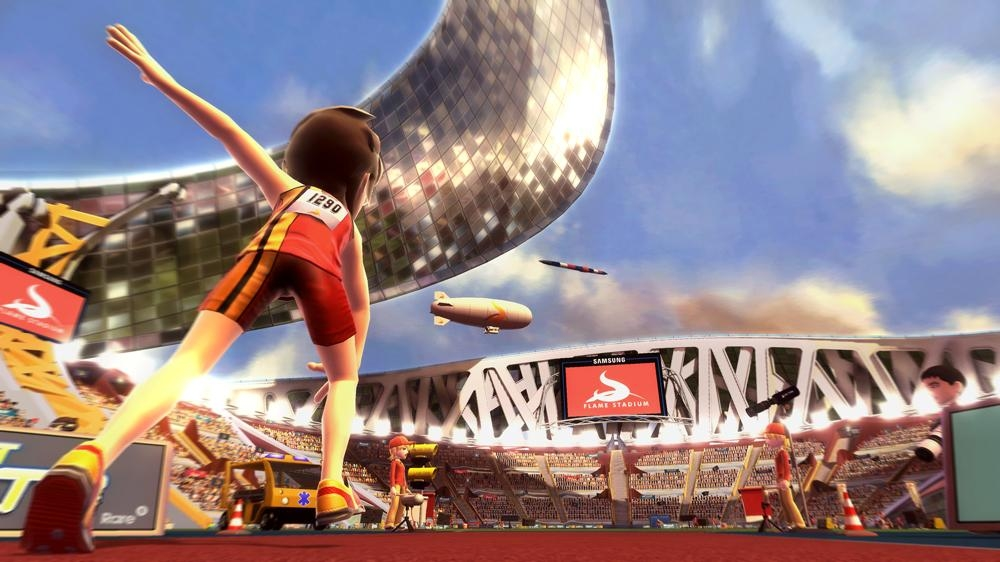 Snímek ze hry Kinect Sports