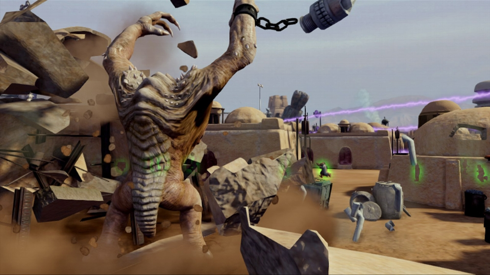 Image from Kinect Star Wars
