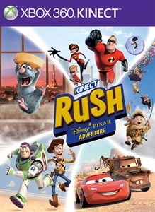 KINECT RUSH: UMA AVENTURA DA DISNEY  PIXAR