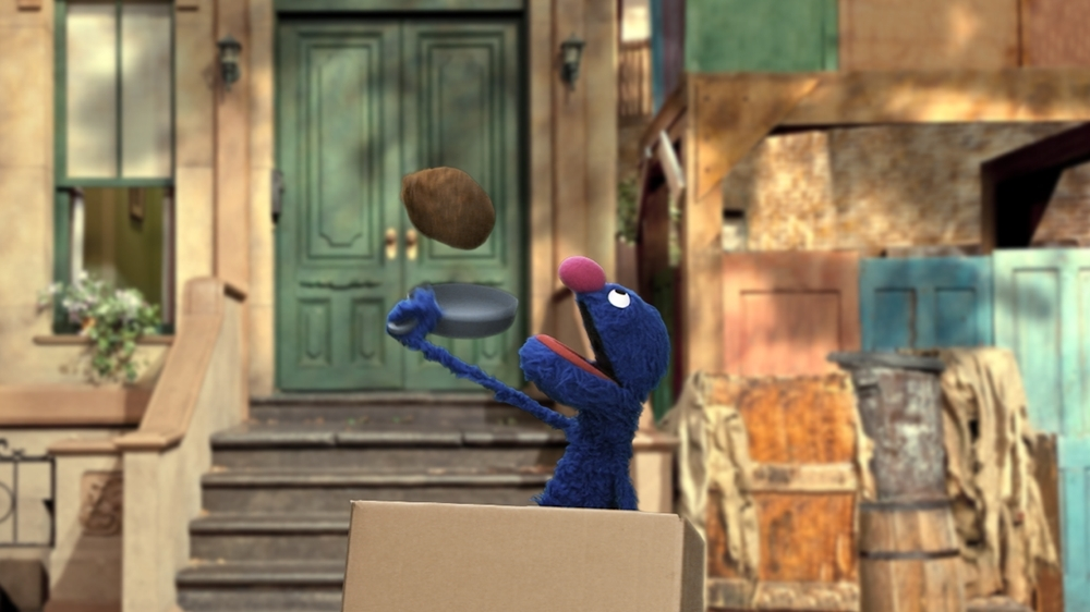 Image from Kinect Sesame Street TV