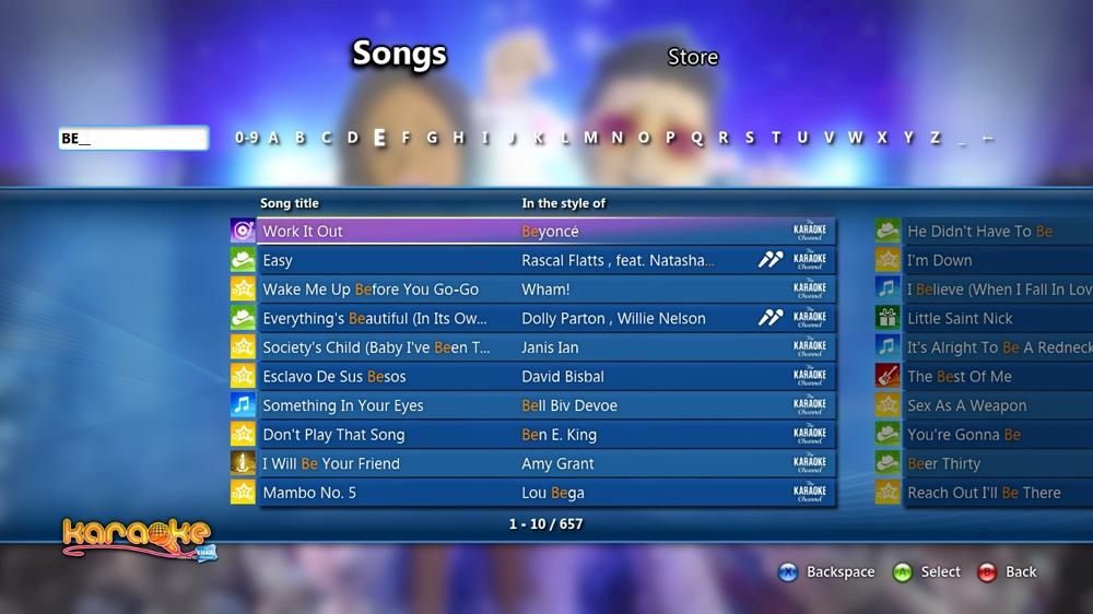 Bild från Karaoke