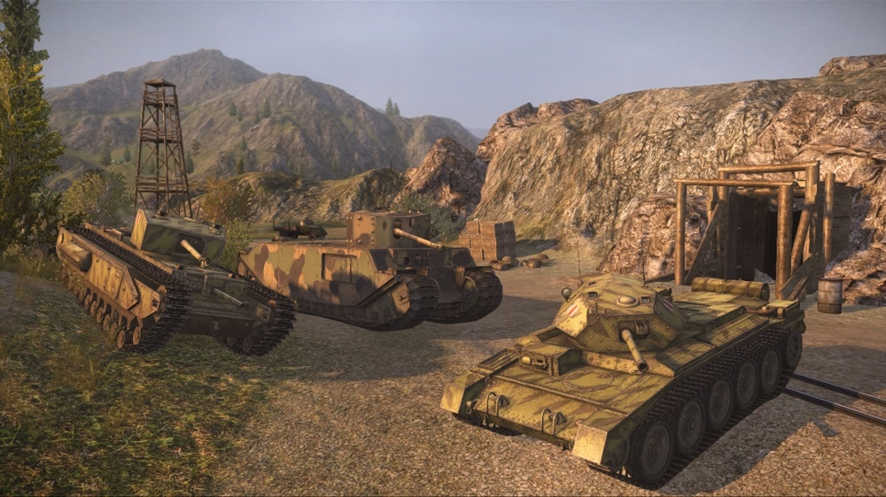 Image from World of Tanks Public Test