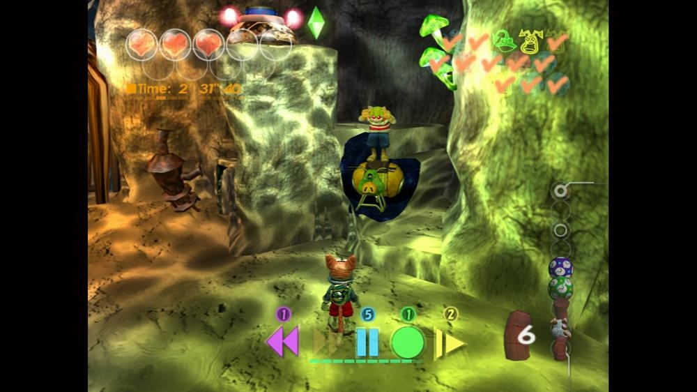 Image from Blinx: The Time Sweeper