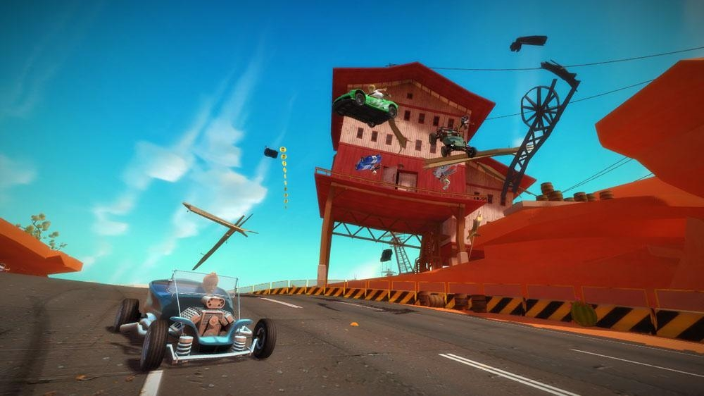 Immagine da Demo di Kinect Joy Ride
