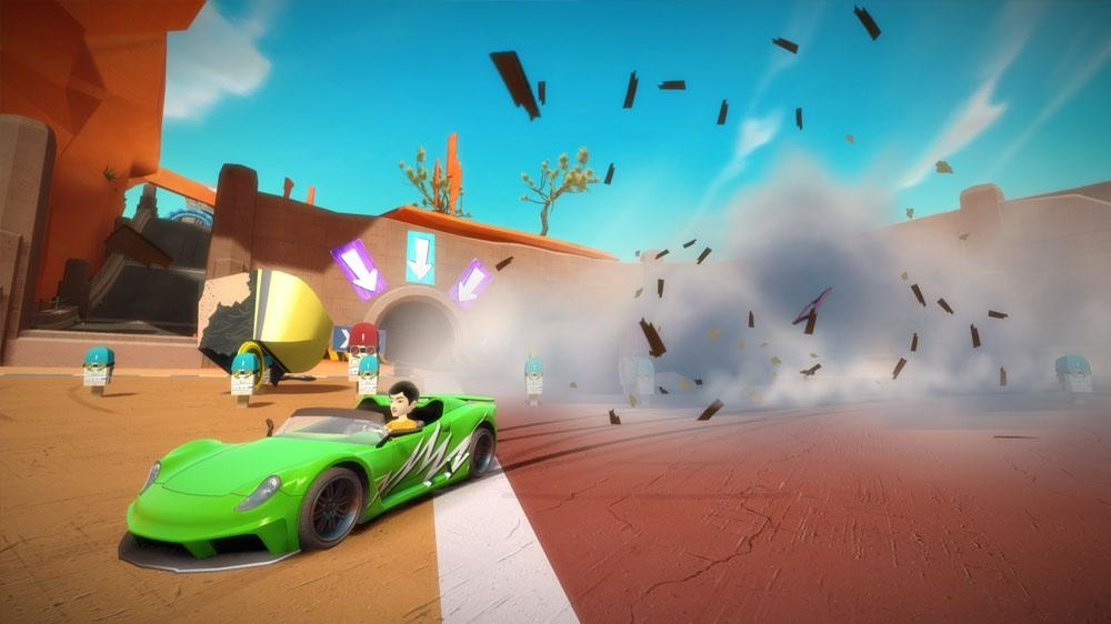 Image from Kinect Joy Ride Demo