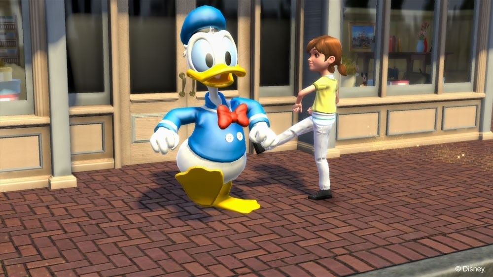 Image from Kinect Disneyland Adventures Demo