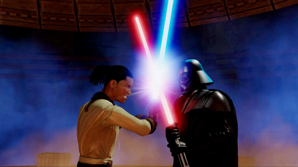 Image from Kinect Star Wars (Demo)