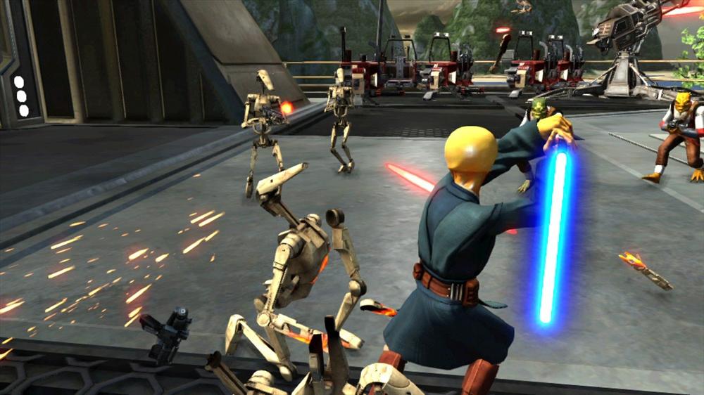 Image de StarWars Kinect (démonstration)