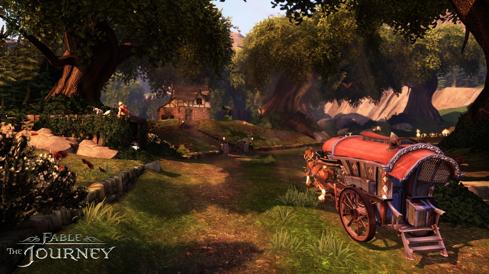Bild från Fable: The Journey Demo