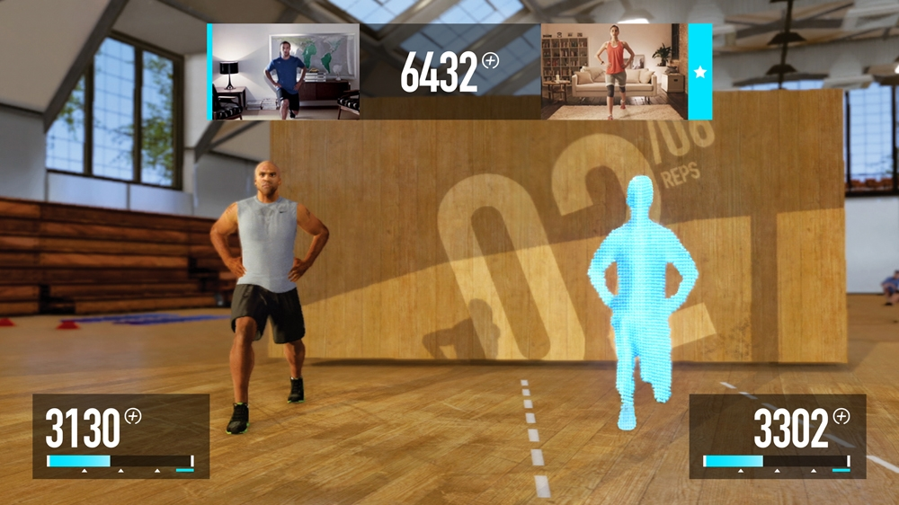 Image from Demo: Nike+ Kinect Training