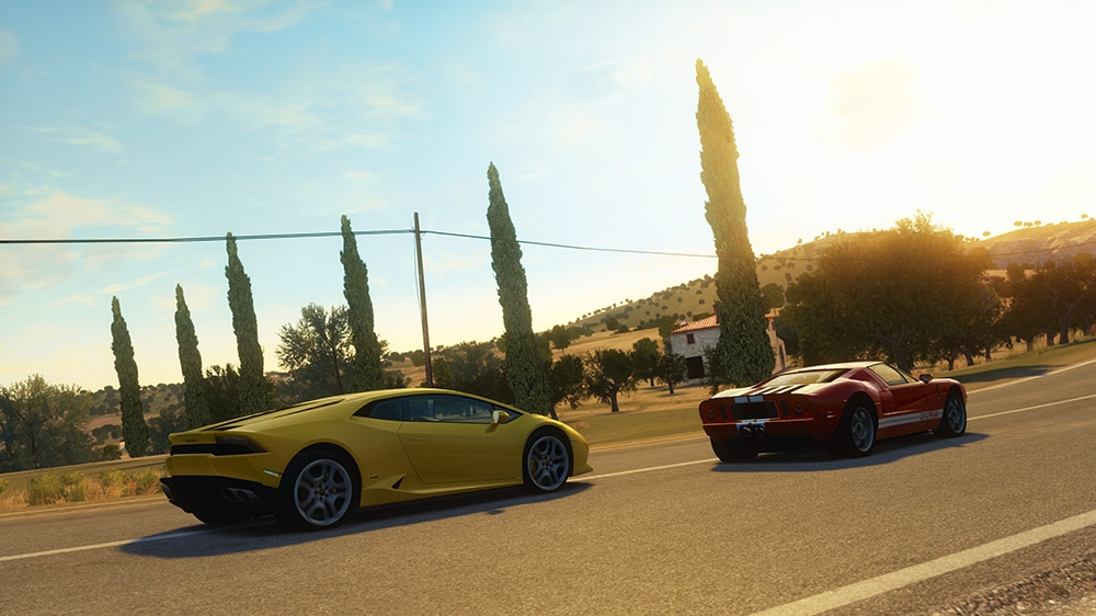 Image from Forza Horizon 2 Demo