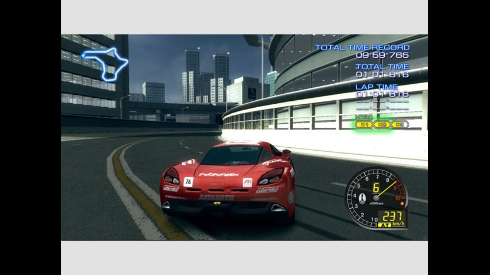 Image from Ridge Racer 6