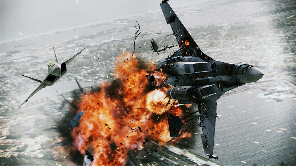Billede fra ACE COMBAT: AH