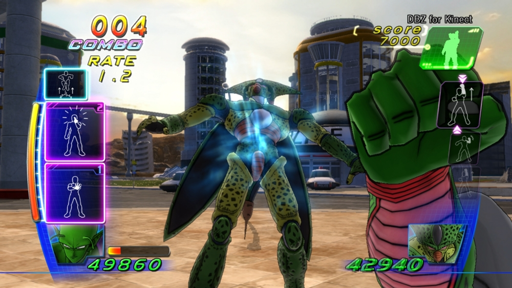 Image from DBZ for Kinect™
