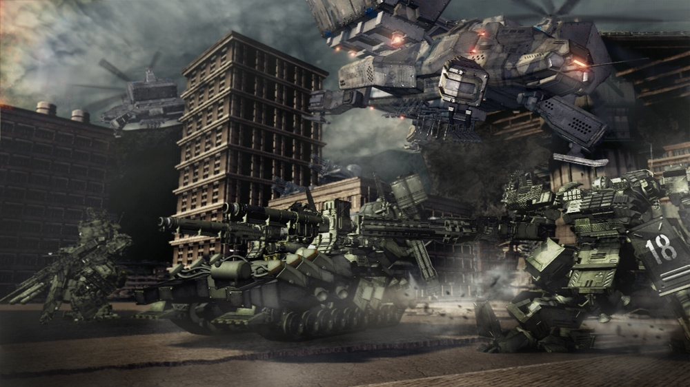 Image from Armored Core V