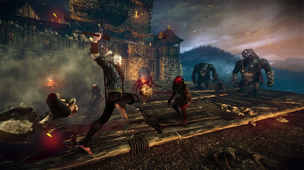 Bilde fra The Witcher 2