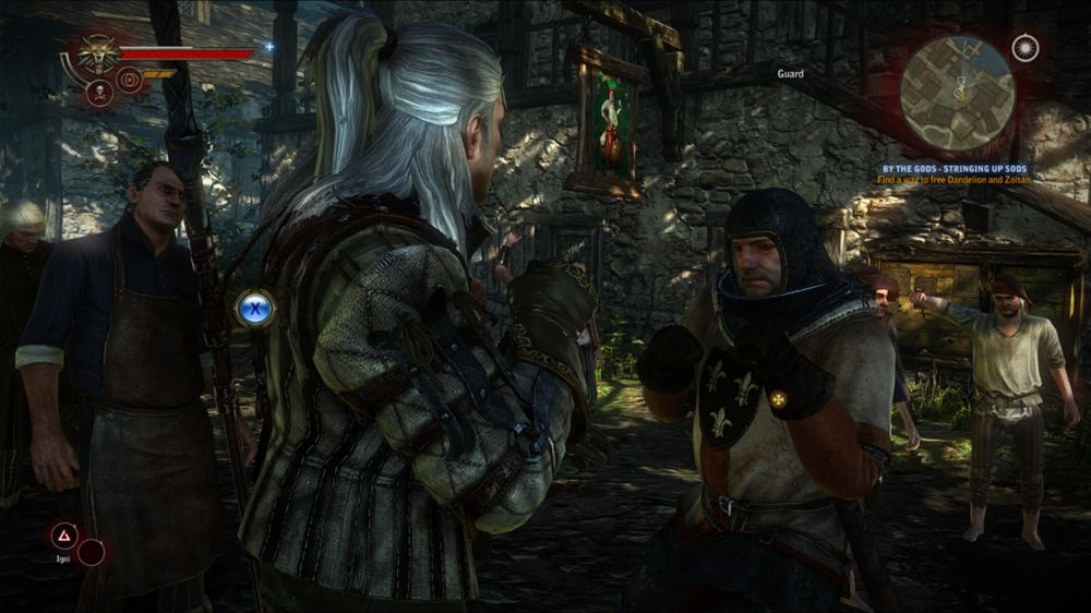 Kuva pelistä The Witcher 2