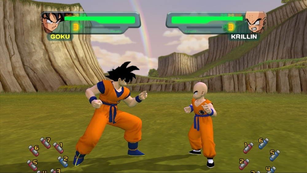 Bild från DBZ Budokai HD Collection