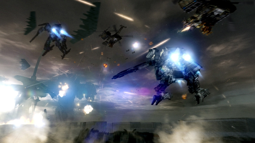Bild från ARMORED CORE™: VERDICT DAY™
