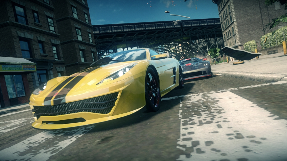 Image from Ridge Racer Unbounded Demo 