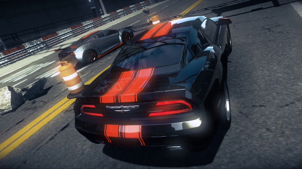 Image from Ridge Racer™ Unbounded Demo