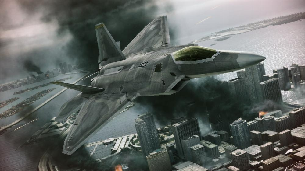 Image from ACE COMBAT ASSAULT HORIZON Demo