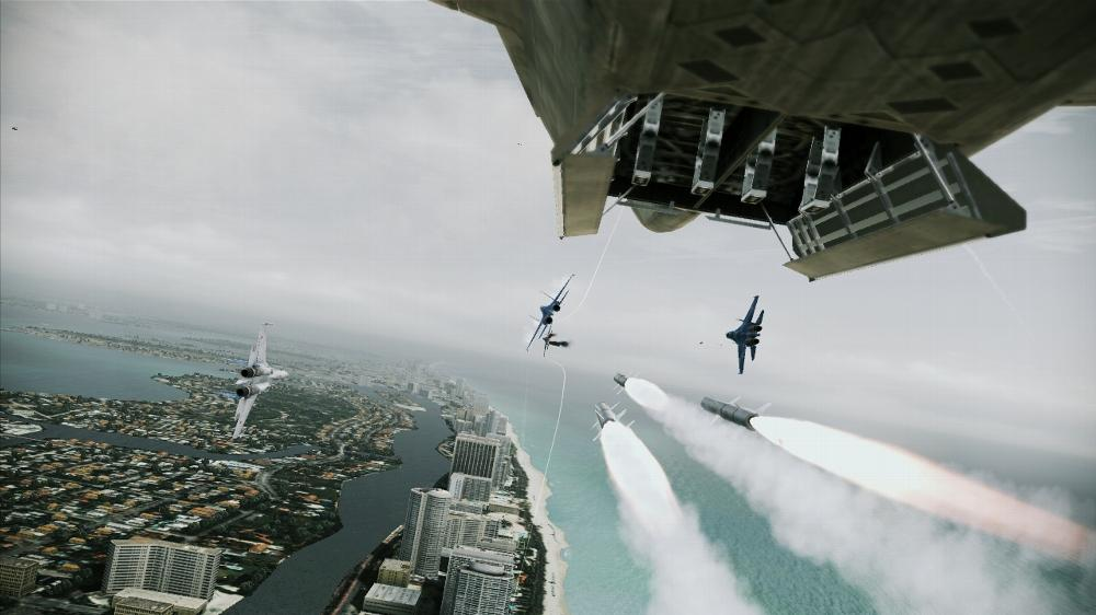 Image de ACE COMBAT ASSAULT HORIZON Démo