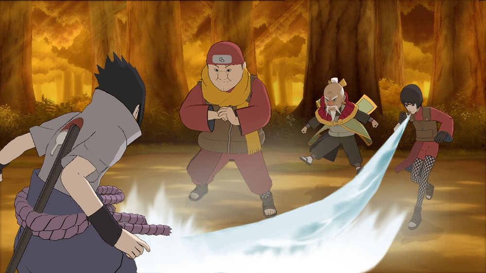 Image from Ultimate Ninja STORM Generations DEMO